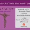 Via-sacra começa na sexta-feira, dia 16 de fevereiro.